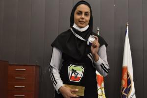 بانوی بوشهری نایب قهرمان ناین بال بانوان کشور شد