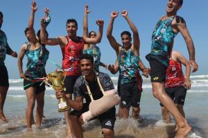 قهرمانی بندرگناوه در مسابقات هندبال ساحلی جنوب کشور