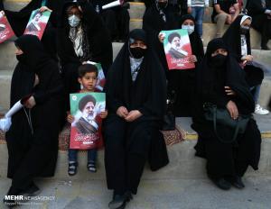 تجمع حامیان سید ابراهیم رئیسی در مشهد
