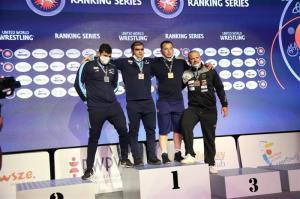 نایب قهرمانی کشتیگیر مازندرانی در رقابتهای لهستان