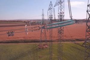 دکل اضطراری خط انتقال برق گنبد-ترکمنستان نصب شد