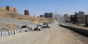 آغاز عملیات اتصال پارکینگ بوستان ۲۰ هکتاری به بلوار نظام مهندسی سنندج