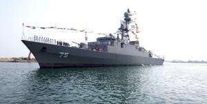 ناوشکن دنا و مین روب شاهین به نیروی دریایی ارتش ملحق شدند