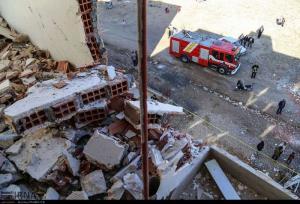 انفجار گاز در جوانرود ۴ عضو یک خانواده را مصدوم کرد