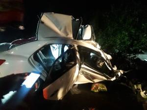 مرگ بانوی ۴۵ ساله بر اثر  برخورد ۲ خودرو در جاده سراوان–فومن