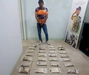 دستگیری زوج قاچاقچی مواد مخدر در فردیس