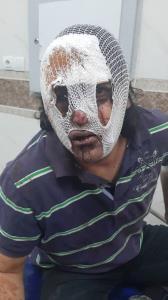 حمله زورگیران خشن به راننده اسنپ کرمانشاهی