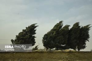 پیشبینی وزش بادهای نسبتاً شدید جنوبی در استان قزوین