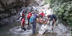 نجات کوهنورد ۶۳ ساله در ارتفاعات شمال تهران
