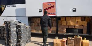 کشف میلیاردی انواع کالای قاچاق در سمنان