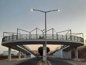 افتتاح نخستین روگذر دوچرخه در قزوین