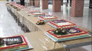 پخت کیک ۳۰ متری در ساوه