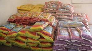 توقیف محموله ۱۷۰ تنی برنج قاچاق در زاهدان