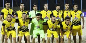 حضور پارس جنوبی در لیگ برتر فوتبال ساحلی قطعی شد