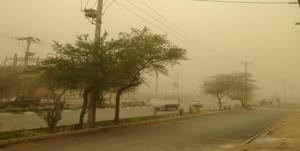 گردوغبار در خوزستان به ۸ برابر حد مجاز رسید
