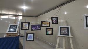 برپایی نخستین نمایشگاه سوختهنگاری در بانه