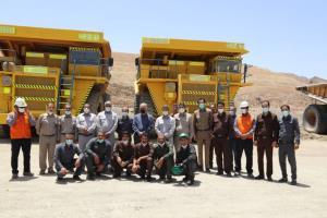 بومیسازی ۴ دستگاه کامیون ١٢٠ تنی در مجتمع مس سرچشمه