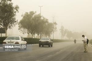 گردوغبار بوشهر را فرا گرفت