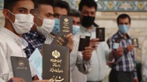 صفهای طولانی طی اولین ساعت رایگیری در اصفهان
