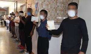 مددجویان زندانهای البرز آرای خود را به صندوق ریختند