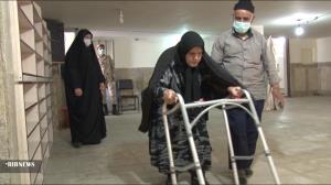 پیرزن ۹۱ ساله در شهر بِن پای صندوق رأی رفت