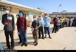گرمای هوا حریف مردم نشد؛ شور حضور خوزستانیها پای صندوقهای رأی