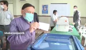 پیرمرد ۸۶ساله زنجانی از انتخابات میگوید