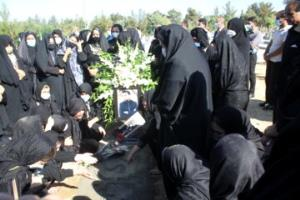 تشییع پیکر پیشکسوت رسانهای، حاج سامی شهبازی در ایلام