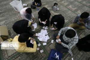 نتایج شمارش آرای انتخابات شورای شهر نقاب اعلام شد
