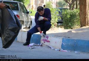 عملیات پاکسازی آثار تبلیغات کاندیداها در مهاباد انجام شد