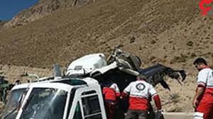 سقوط هلیکوپتر اورژانس در الیگودرز