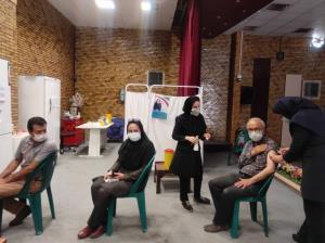 واکسیناسیون گروههای بهزیستی در معرض ابتلا به کرونای کرمان