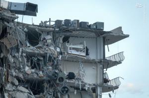 فروریختن ساختمان ۱۲ طبقه در فلوریدا