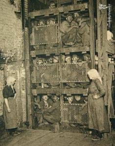 تصویری متفاوت از آسانسور کارگران معدن در بلژیک