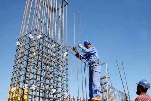 مرگ کارگر اسکلت بند بر اثر سقوط از ارتفاع طبقه هفتم در قم