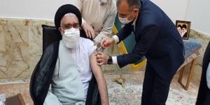 امام جمعه قم واکسن ایرانی زد