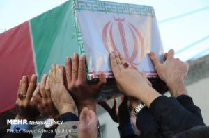پیکر امیر سرتیپ جوادیان در مهدیشهر تشییع شد