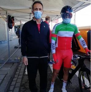 حضور دوچرخهسوار زنجانی در رقابتهای پارالمپیک ۲۰۲۰ توکیو