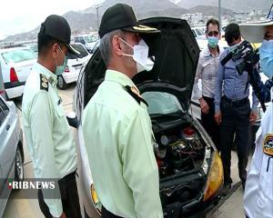 عکس/ توقیف ۱۰۰ خودروی متخلف در اراک
