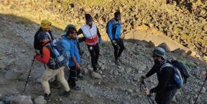 نجات ۳ کوهنورد از ارتفاعات کوه سبلان