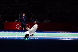 صعود شمشیرباز گیلانی به دور بعدی رقابتهای المپیک