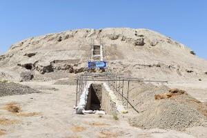 کاوش ارگ نادری در خراسان شمالی پس از ۳ سال وقفه از سر گرفته شد