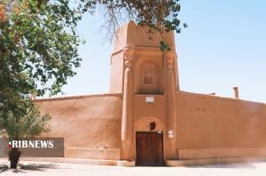 بزرگترین قلعه خشت و گلی ایران در بافق