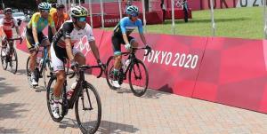 دوچرخهسوار تبریزی در کورس مسابقات المپیک