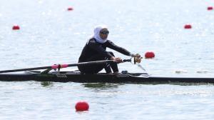 بانوی قایقران گیلانی به مرحله یک چهارم نهایی المپیک صعود کرد