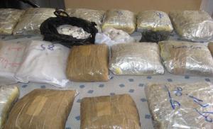 کامیون حامل مواد مخدر در تور پلیس یزد