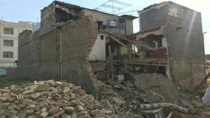 ۶ مصدوم در پی ریزش دیوار یک منزل مسکونی در مریوان