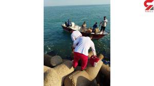 غرق شدن مرد بوشهری در اسکله جلالی