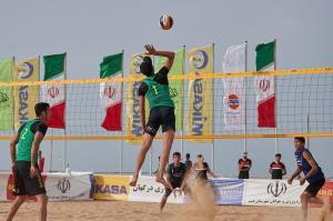 زمینه برگزاری مسابقات بین المللی والیبال ساحلی در مشهد فراهم شد