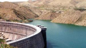 کاهش حجم آب سد چری فاروج خراسان شمالی
